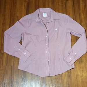 Brooks Brothers Button Front Top